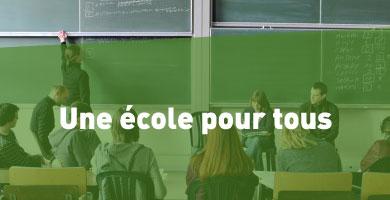 Priorité 2 : L'enseignement – une école pour tous